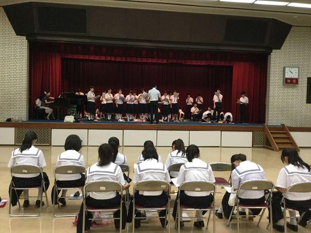 NHK学校音楽コンクール東海北陸ブロック大会(コーラス部)